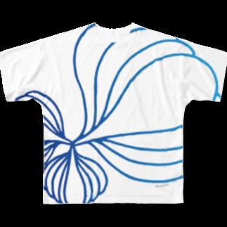 KatsuのArtxgreen2018 フルグラフィックTシャツ