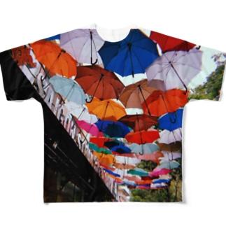 ベトナムにて Full graphic T-shirts