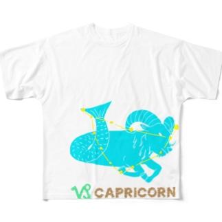 山羊座のグッズ フルグラフィックTシャツ
