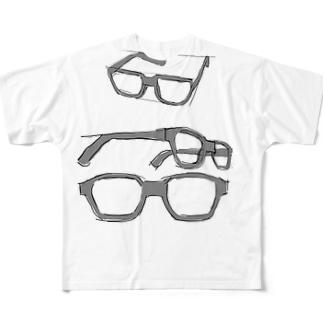 伊達 Full graphic T-shirts