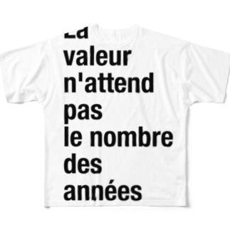 aneés Full graphic T-shirts