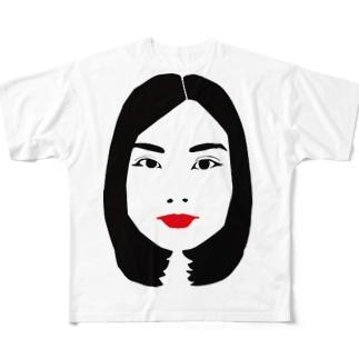 あべちゃん Full graphic T-shirts