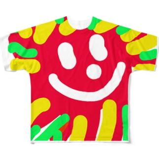 Milano possitano The SUN フルグラフィックTシャツ