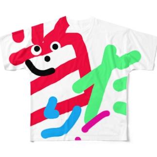 当たり! フルグラフィックTシャツ
