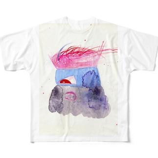なるなるき フルグラフィックTシャツ