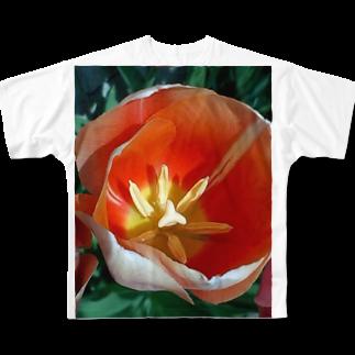 Dreamscapeの柔らかい日差しの中で Full graphic T-shirts