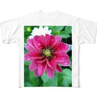 シャワーの後で・・・ Full graphic T-shirts