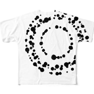 滴下 フルグラフィックTシャツ