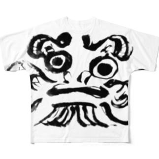 daruma Full graphic T-shirts