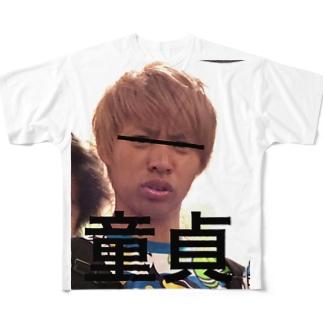 はまだどうてい Full graphic T-shirts