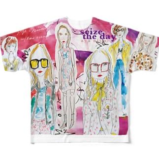 fashion_lady フルグラフィックTシャツ