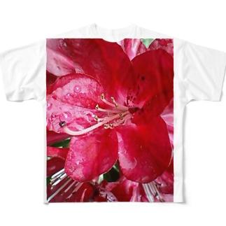 こんなにも鮮やかに・・・ Full graphic T-shirts