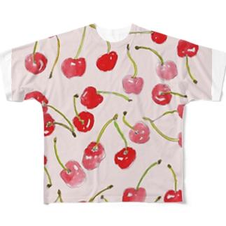 cherry_merry Full graphic T-shirts