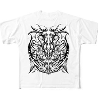 イーグル Full graphic T-shirts