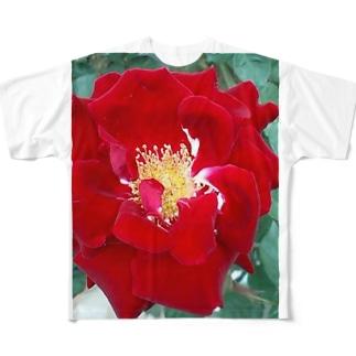 愛は盲目 Full graphic T-shirts