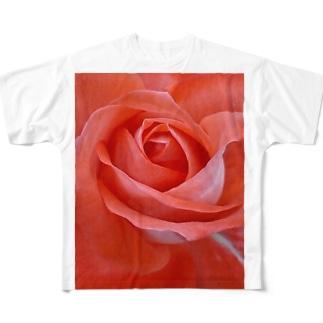 麗し気に Full graphic T-shirts