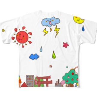 POP街 Full graphic T-shirts