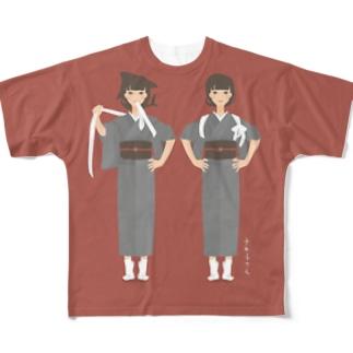 さめ子さん フルグラフィックTシャツ