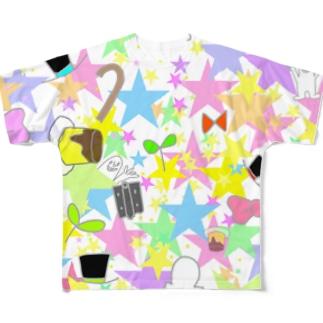 ハイパーまみれオシャンティ☆ Full graphic T-shirts