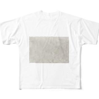犬吠埼の岩 Full graphic T-shirts