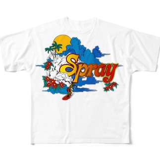 SPRAY Full graphic T-shirts