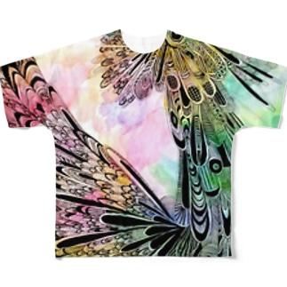 自己顕示欲の塊グラフィック2011 Full graphic T-shirts