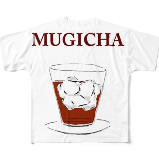 麦茶 Full graphic T-shirts