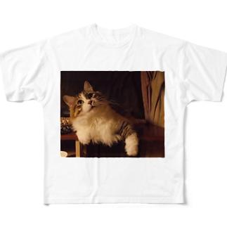 社長3。 Full graphic T-shirts