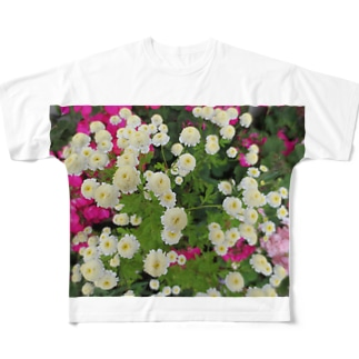 ホワイトミッション Full graphic T-shirts