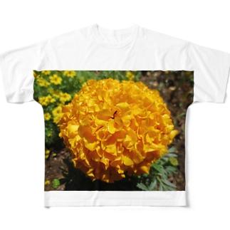 目にも鮮やかな!! Full graphic T-shirts