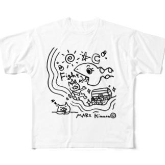 Daydream フルグラフィックTシャツ