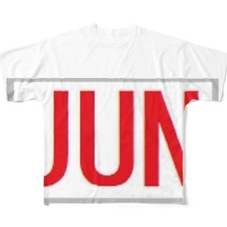 JUN フルグラフィックTシャツ