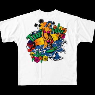JOKERS FACTORYのTWISTER フルグラフィックTシャツ