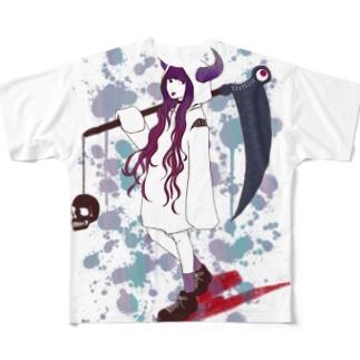 死神 Full graphic T-shirts