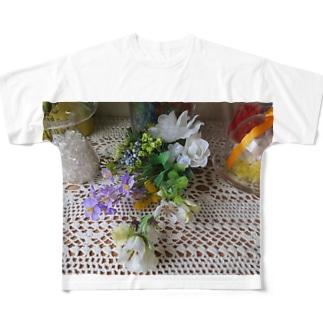 さあ!飾ろう!!No.3 フルグラフィックTシャツ