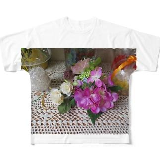 さあ!飾ろう!!No.5 フルグラフィックTシャツ