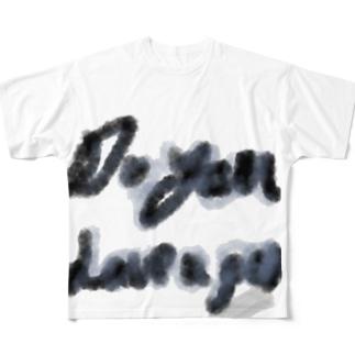 ペン持ってる? フルグラフィックTシャツ