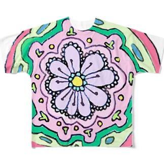 精神 Full graphic T-shirts