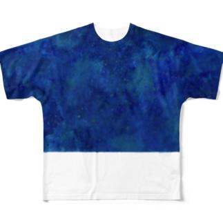 texture 宇宙02 Full graphic T-shirts