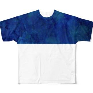 texture 宇宙01 Full graphic T-shirts