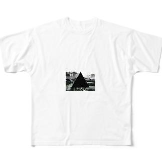 SANKAKU Full graphic T-shirts