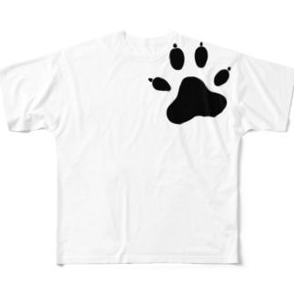 バウスタンプ フルグラフィックTシャツ