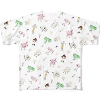 リコサさん フルグラフィックTシャツ