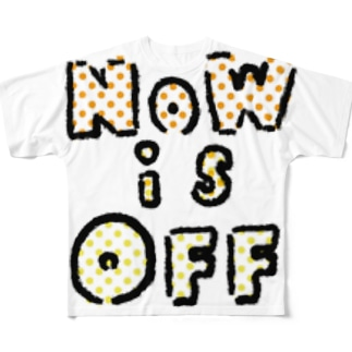 NOWisOFF Full graphic T-shirts