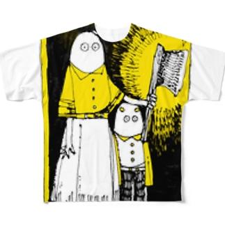 よるの足音 Full graphic T-shirts