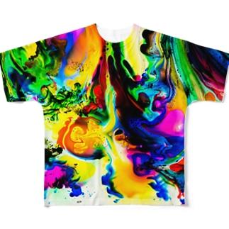 dyebirth_006 フルグラフィックTシャツ