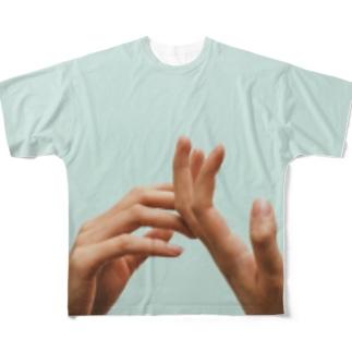 手 Full graphic T-shirts