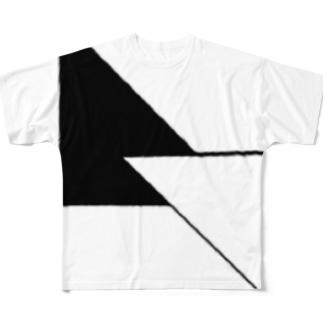 表と裏 Full graphic T-shirts