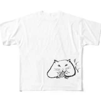 ハムちゃんグラフィグッズ フルグラフィックTシャツ