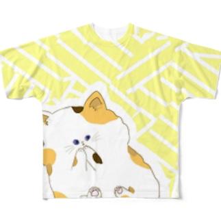 三毛子さん フルグラフィックTシャツ